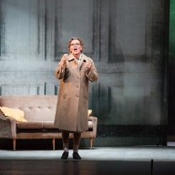 Britten's The Turn of the Screw. Irina Romishevskaya as Mrs. Grose. August 27, 2014. Photo by Daniil Kochetkov