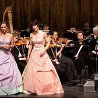 Ten Sopranos (gala concert ). Irina Romishevskaya and Elena Mitrakova. Photo by Daniil Kochetkov